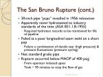 the san bruno rupture cont