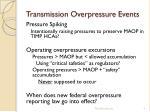 transmission overpressure e vents