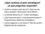 qu contiene el plan estrat gico a qu preguntas responde