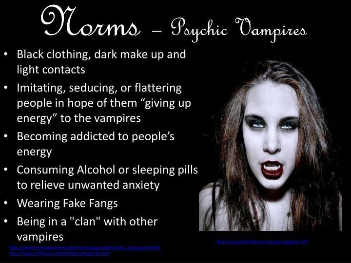 Am i dating an energy vampire