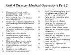 unit 4 disaster medical operations part 2