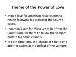 theme of the power of love