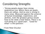 considering strengths1