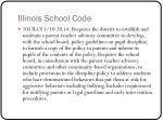 illinois school code