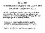 sb 1388 the now parking law the ccapa and lcc didn t oppose in 2012
