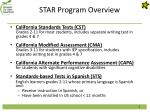 star program overview