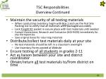 tsc responsibilities overview continued2