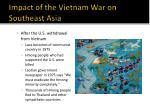 impact of the vietnam war on southeast asia8