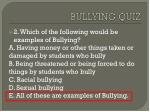 bullying quiz1