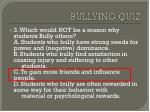 bullying quiz2