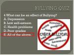 bullying quiz3