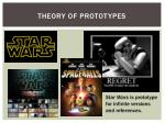 theory of prototypes