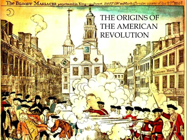 the origins of the american revolution n.