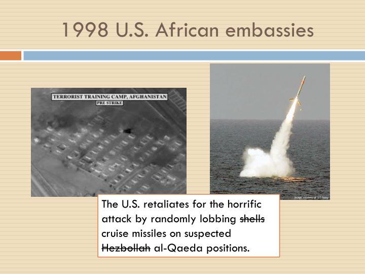 1998 U.S. African embassies