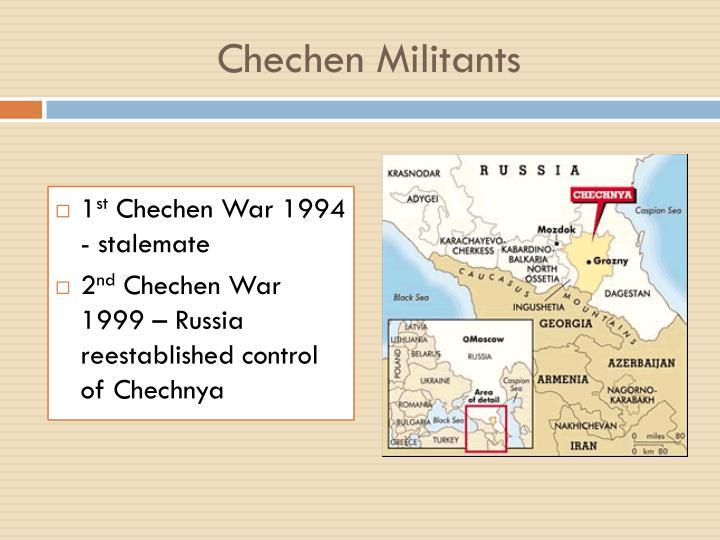 Chechen Militants