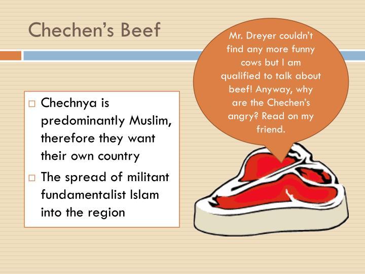 Chechen's Beef