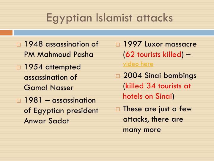 Egyptian Islamist attacks