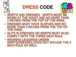 dress code1