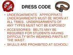 dress code3