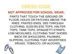 dress code4