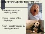non respiratory movements