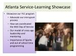 atlanta service learning showcase