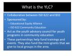 what is the ylc