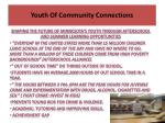 youth of community connections