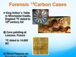 forensic 14 carbon cases1