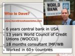 who is dave www davegraceassociates com