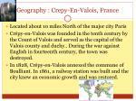 geography crepy en valois france