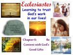 ecclesiastes1