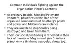 common individuals fighting against the organisation pinter s contexts1