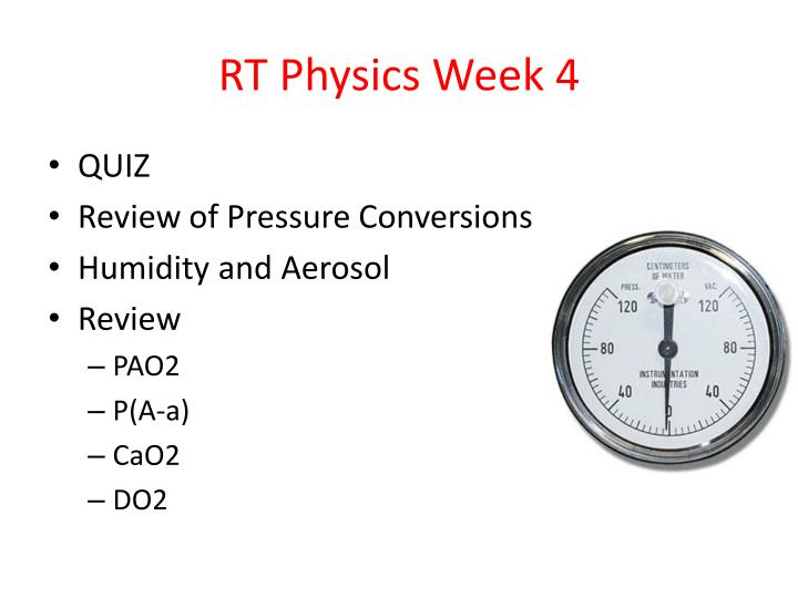 rt physics week 4 n.