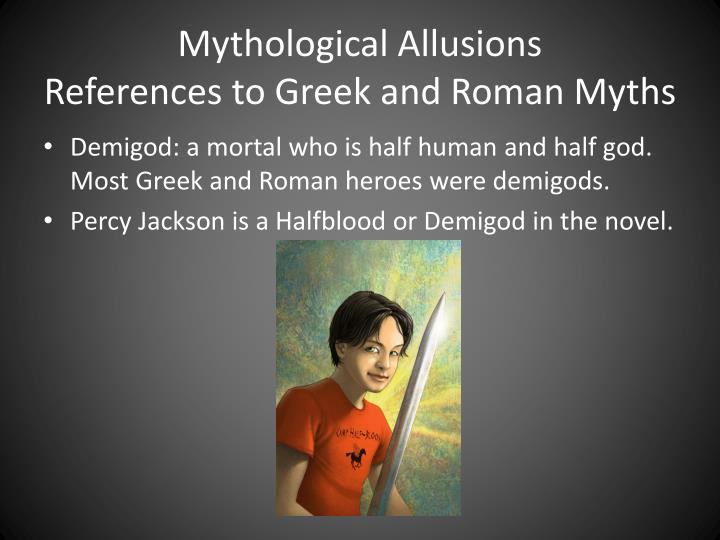 allusive idioms from greek myths and 230 quotes have been tagged as greek-mythology: rick riordan: 'being a hero doesn't mean you're invincible it just means that you're brave enough to sta.