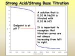 strong acid strong base titration1