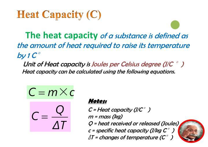 Heat Capacity (C)