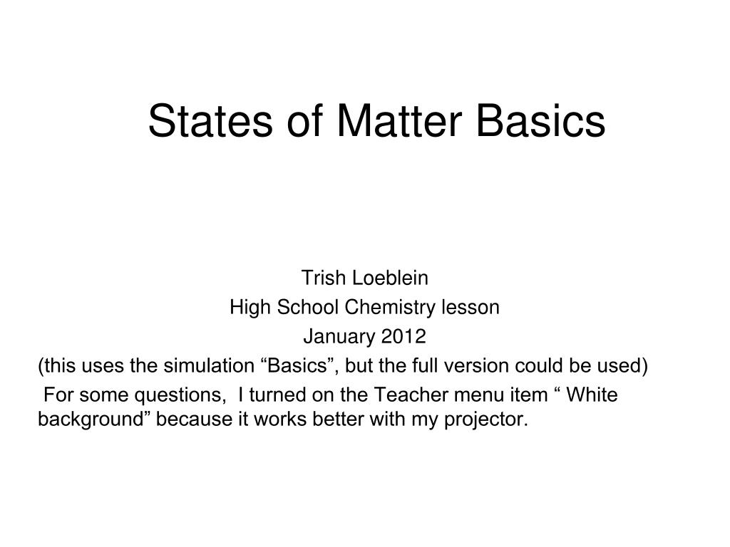 Worksheets States Of Matter Worksheet High School ppt states of matter basics powerpoint presentation id2249955 n