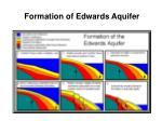 formation of edwards aquifer