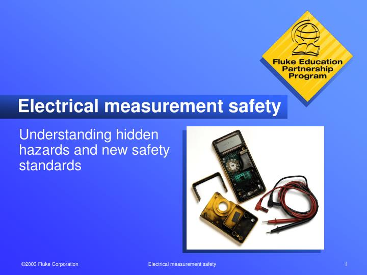electrical measurement safety n.