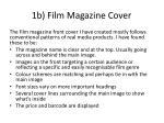 1b film magazine cover