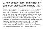 2 how effective is the combination of your main product and ancillary texts