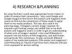 4 research planning