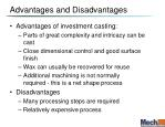 advantages and disadvantages2