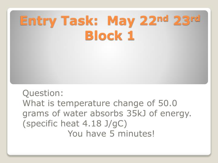 entry task may 22 nd 23 rd block 1 n.