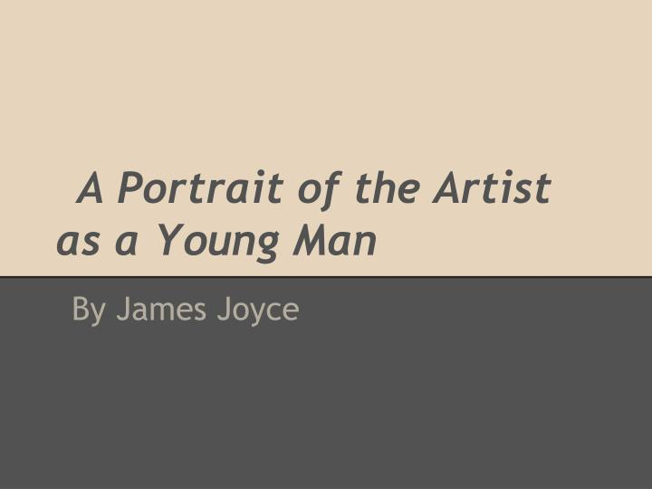 a portrait of the artist as a young man n.
