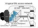a typical dsl access network1