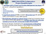 smdc dau dtra collaboration project breakthroughs