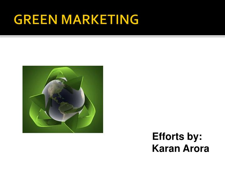 history of green marketing The following marketing definitions were approved by the american marketing association board of directors.