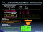 61c levels of representation abstractions
